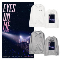 Kpop IZONE Sweater EYES ON M E Concert Hooded Sweater Korean Version with Hood Jacket