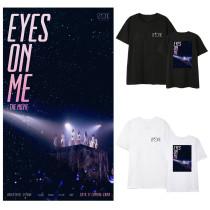 Kpop IZONE T-shirt EYES ON ME concert leisure Baita Korean version loose short-sleeved shirt