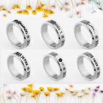 ALLKPOPER KPOP EXO Ring MONSTA X Fashion Jewelry TWICE SEVENTEEN MAMAMOO BLACK PINK