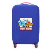 Kpop BTS Bangtan Boys Suitcase cover Cute Travel Trolley Case   Dust Cover Cartoon Elastic Case