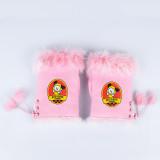 Kpop BTS Bangtan Boys Gloves Same Model Cute Cartoon Plush Gloves Buckskin Warm Gloves