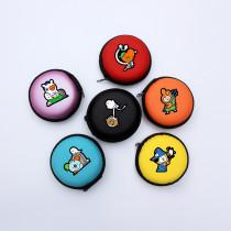 Kpop BTS Bangtan Boys Halloween Cartoon Headphone Case Cute Portable Storage Coin Purse