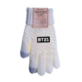 Kpop BTS Bangtan Boys Gloves Winter Plus Velvet Warm Touch Touch Thickening Knit Touch Screen Gloves