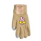 Kpop BTS Bangtan Boys Gloves Warm Touch Winter Plus Velvet Thick Knit Touch Screen Gloves