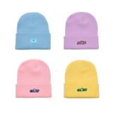 Kpop BTS Hat Bangtan Boys New Knitted Wool Hat Korean Version Wild Autumn and Winter Warm Hat