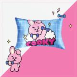 Kpop BTS Pillowcase Bangtan Boys Pillow New Cartoon Cute Korean Student Single Pillow Pillowcase CHIMMY COOKY KOYA