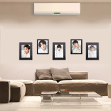 Kpop BTS Bangtan Boys Photo Wall Bedroom Living Room Solid Wood Decoration Photo Frame 5 inch 8 inch Factory Direct Sales