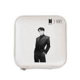 Kpop BTS Bangtan Boys Jewelry Box Uniform Hand-painted Jewelry Box Necklace Bracelet Travel Portable Storage Box