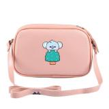 Kpop BTS Shoulder Bag Bangtan Boys New Cartoon Cute Crossbody Small Square Bag Wild Student Female Bag