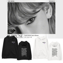 Kpop Girls' Generation Taeyeon Album PURPOSE Hoodie Sweater Plus Velvet Thin Spring Autumn Hoodie