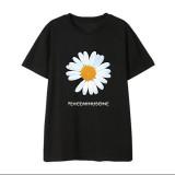 Kpop GD T-shirt Korean version Loose bottoming Shirt Korean version Simple Short Sleeve