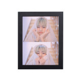 Kpop BTS Bangtan Boys Photo Frame Photo Wall Bedroom Living Room 5 inch 8 inch Solid Wood Decoration Photo Frame Custom Wholesale