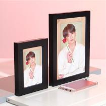 Kpop BTS Bangtan Boys Photo Frame Album Photo Wall Bedroom Living Room Solid Wood Decoration 5 Inch 8 Inch Photo Frame Wholesale