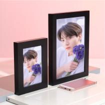 Kpop BTS Bangtan Boys Photo Frame Photo Wall Bedroom Living Room 5 inch 8 inch Solid Wood Decoration Photo Frame Custom Wholesale
