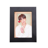 Kpop BTS Bangtan Boys Photo Frame Album Photo Wall Bedroom Living Room Solid Wood Decoration 5 Inch 8 Inch Photo Frame Wholesale