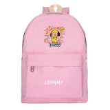 Kpop BTS Schoolbag Bangtan Boys Backpack New Cartoon Cute Male and Female Students Casual Canvas Bag