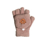 Kpop BTS Gloves Bangtan Boys New Coral Fleece Flap Warm Gloves Cold Resistance Student Writing Gloves