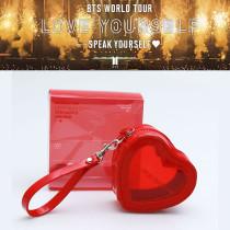 Kpop BTS Bag Bangtan Boys Concert LOVE YOURSELF Love Coin Purse Cute Clutch