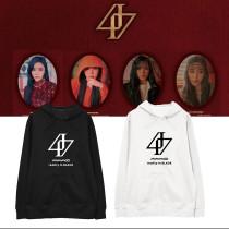 Kpop MAMAMOO Sweater Album REALITY IN BLACK Hoodie Sweatshirt Korean Loose Jacket
