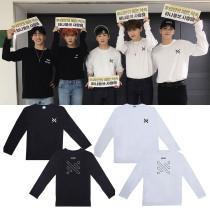 Kpop NUEST Long Sleeve T-Shirt Love Page FM Concert Long Sleeve T-Shirt Loose Bottoming Shirt