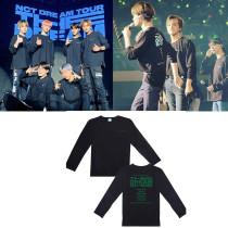 Kpop NCT DREAM Long Sleeve T-shirt Concert DREAM SHOW Peripheral Long Sleeve T-shirt Loose Shirt