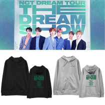 Kpop NCT DREAM Concert THE DREAM SHOW Hooded Sweater Plus Velvet Thin Spring and Autumn Coat