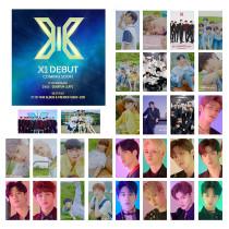 Kpop X1 Photo Card Debut 1 series Flying QUANTUM LEAP Album LOMO Card Greeting Postcard