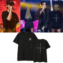 Kpop VIXX T-shirt concert GROOVL 1N same short-sleeved shirt T-shirt Short Sleeve Bottoming Shirt Ravi