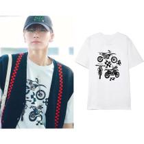 Kpop NCT T-shirt V-TEN Same RUNNINGMAN Short-sleeved T-shirt Shirt