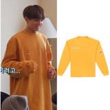 Kpop BTS Sweatshirt Bangtan Boys with Round Neck Sweater Coat JUNG KOOK