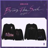 Kpop BTS Sweatershirt Bangtan Boys BRING THE SOUL THE MOVIE Same Round Neck Sweater