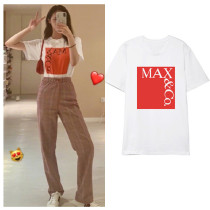 Kpop WJSN T-Shirt Pinky Same Short Sleeve Korean Loose Couple T-Shirt