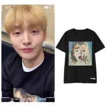 Kpop SEVENTEEN  Vernon Rocket Girls 101 Dylan same Short Sleeve T-shirt