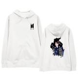 Kpop BTS Sweater Bangtan Boys with Hooded Sweater Korean Loose Coat V SUGA JIN JIMIN