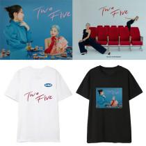 Kpop BOL4 T-shirt new Album TWO FIVE Short Sleeve Loose T-shirt Shirt Top