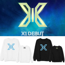 Kpop X1 Sweater Debut Album Concert with the Same Round Neck Sweater Korean Loose Shirt