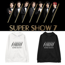 Kpop SUPER JUNIOR Sweater Seven tour SUPER SHOW 7 concert Hoodie Sweatshirt Hoodie