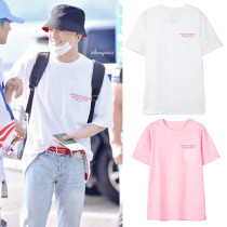 Kpop NCT DREAM T-shirt DoYoung with the Same Short-sleeved T-shirt Korean Loose Wild Couple T-shirt