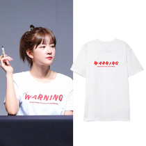 Kpop WJSN EXY Chu SoJung T-shirt Short-sleeved T-shirt Korean Loose Bottoming Shirt T-shirt