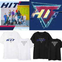 Kpop SEVENTEEN T-shirt Album Single HIT Same Paragraph Short-sleeved Korean Loose T-shirt