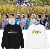 Kpop STRAY KIDS Sweatshirt New Album CléLEVANTER Peripheral Round Neck Sweatshirt Jacket