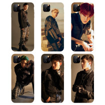 Kpop EXO Phone Case iphoneXS / XR / 11Pro Suitable for Apple Anti-fall Hard Shell Protective Cover CHEN  KAI