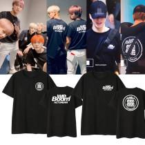 Kpop NCT DREAM T-shirt Album WE BOOM Same Short-sleeved Korean Loose T-shirt