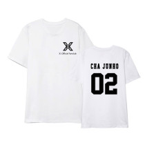 Kpop X1 T-shirt Same Paragraph Short-sleeved T-shirt Korean Loose Couple T-shirt Undershirt T-shirt