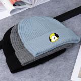 Kpop BTS Bangtan Boys Hat Korean New Knit Hat Wool Hat Wild Cold Warm Hat CHIMMY COOKY