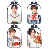 Kpop BTS School Bag Bangtan Boys Christmas 3D Digital Backpack  Backpack  V SUGA JUNG KOOK