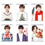 Kpop BTS Hanging Picture BTS Christmas Hanging Picture SUGA JIN JIMIN JUNGKOOK