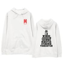 Kpop MONSTA X Same Sweatshirt World Tour Concert Birthday Hoodie Sweatshirt HYUNG  WON IM  JOO HEON  KIHYUN