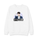 Kpop BTS World Sweatshirt Bangtan Boys Suga Around Round neck sweater  V SUGA JIN JUNG KOOK