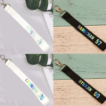 Kpop Stray Kids Keychain Name Lanyard Cute Creative Couple Pendant Keychain BANG CHAN  CHANGBIN
